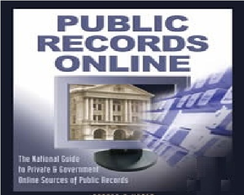 Accessing Public Records from home